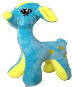 Chinmayi Small Female Giraffe Soft Toy, Gift Smile To Your Kids  - 24 cm