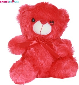 Babies Bloom Be My Valentine With A Red Ribbon Plush Stuffed Teddy Bear  - 20 cm