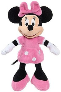 Disney Magical Friends Collection Mini Plush Minnie Mouse Pink
