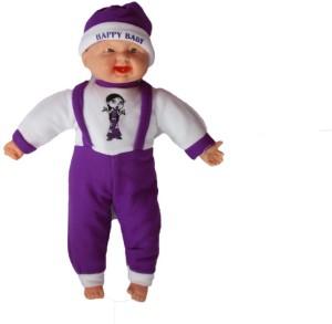 soniya enterprises musical happy baby boy laughing  - 45 cm