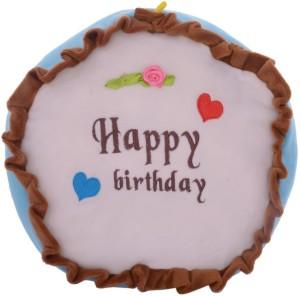 Twisha Multi Cake Blue 25 X 25 X 10 Cms  - 10 cm