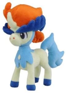 Takara Tomy Pokemon Best Wishes Plush Doll N30 Keldeo