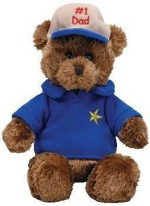 Ty Beanie Ba Dear Dad The Bear (Hallmark Gold Crown Exclusive)