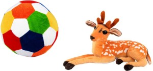 Alexus Deer And Football  - 32 cm