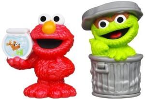 Playskool Sesame Street2Pack Oscar And Elmo