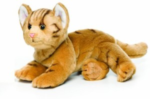 Nat and Jules Orange Tab Cat Plush Large