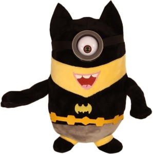 TLF Despicable Me Minions Plush Doll In Super Heroes Suit-BATMAN  - 11 inch
