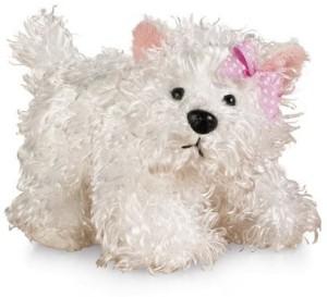 Ganz lil'kinz terrier plushwhite65