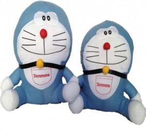 Chinmayi Doraemon Combo, Extremely Huggable  - 30 cm