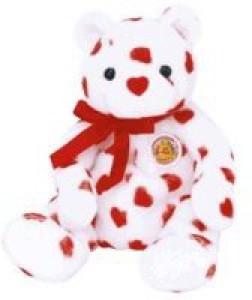 Ty Beanie Babies Heartthrob Bear (Bbom February 2004)