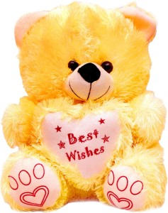 Vpra Mart Best Wishes Yellow Teddy Bear  - 35 cm