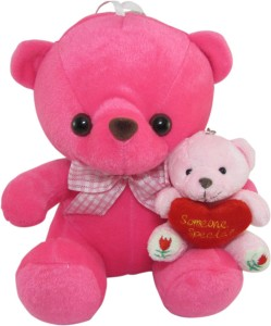 Tickles Teddy With Kid  - 21 cm