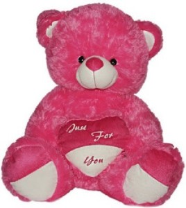 Cuddles Collections Specially For You Teddy 70 pink  - 70 cm