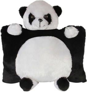 Deals India Black & White Panda Pillow  - 40 cm