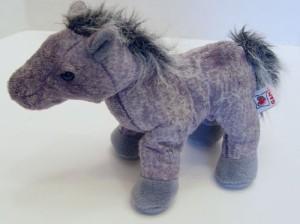 Ganz Hm098 Webkinz Grey Arabian Horse Pony