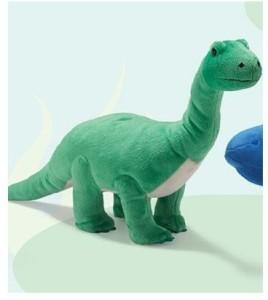 Russ Berrie Large Plush Animated Green Dinosaur Talks And Walks