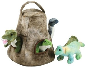 CuddleZoo Cuddle Zoodinosaur House With 4 Ba Dinos
