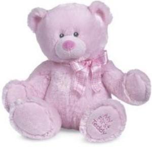Cute Ganz Plushes Ganz My First Teddy Pink 14