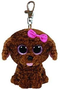 Ty Beanie Boos Maddie The Brown Dog Key Clip 4