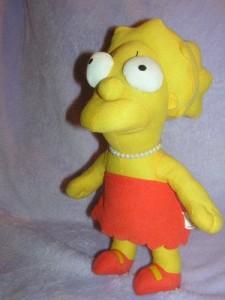 Nanco The Simpsons Plush 13
