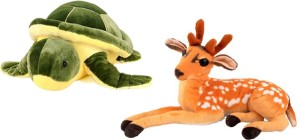 Alexus Deer And Turtle  - 32 cm