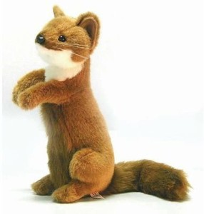 Hansa Standing Weasel Reproduction 12'' Tall Affordable Gift