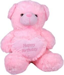 Cuddles Heart teddy Pink  - 35 cm