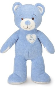 Kids Preferred Healthy Baby: My Teddy - Blue by Kids Preferred  - 25 inch