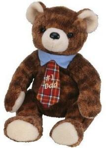 Ty Beanie Babies Pappa 2004 Bear 1 Dad Retired
