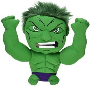 Comic Images Super Deformed Hulk Plush Green