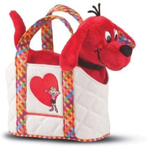 Douglas Plush Clifford The Big Red Dog With Tote Bag