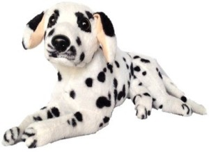 Chinmayi Cute Dalmitian Dog, good companion to your little ones  - 32 cm