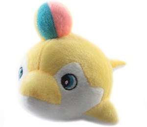 Tickles Cute Dolphin With Ball  - 23 cm