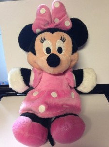 Disney Ba Minnie Mouse Scented And Rattle Plush