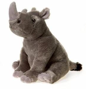 Fiesta Toys Bean Bag Sitting Rhino 10