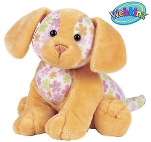 Webkinz Virtual Pet Plush Petal Puppy (8 Inch)