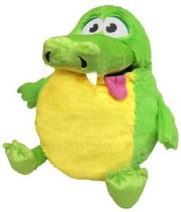 Tummy Stuffers Green Gator Plush