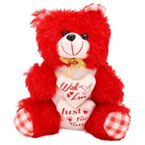Arihant Online Red Daunting Teddy Bear  - 27 inch