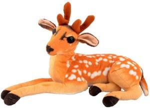 speoma Stuffed soft filling 45 cm Deer soft toy  - 5 cm