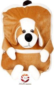 MGPLifestyle Puppy Dog Face Premium Bags for Kids  - 7 cm