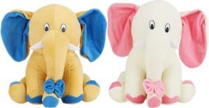 Alexus Pink Peach Elephant  - 32 cm