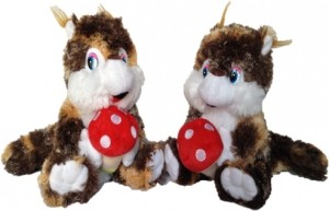 Chinmayi Amazing Squirrel Combo,Crafted With Perfection Using The Finest Materials  - 30 cm