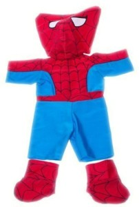 Stuffems Toy Shop Spidey Teddy Outfit Fits Most 8