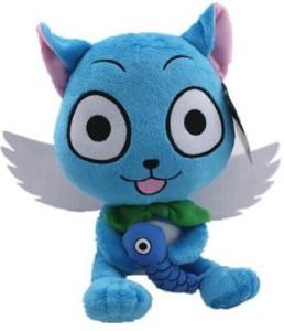 Fairy Tail Blue Happy Cat 10