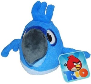Angry Birds Rio 5Inch Blue Bird With Sound
