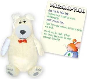 First Ideas Corp. Get Well Friends Peri The Polar Bear