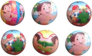 PTCMart PTCMART Kids Balls Set of 6  - 6 cm