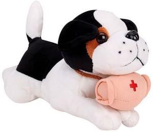 Tickles Sleeping Dog With Medicine Kit  - 26 cm