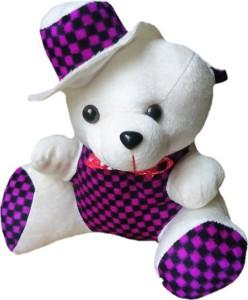 Aparshi Lovely teddy with cap  - 30 cm