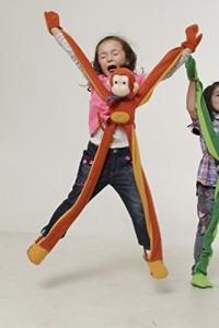 Anatina Toys Monkey To Wear Puppet Plush Handmade & Ecofriendly